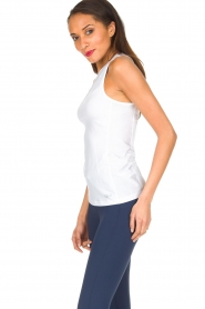 Casall | Sporttop Meshy | wit  | Afbeelding 4