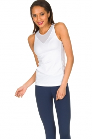 Casall | Sporttop Meshy | wit  | Afbeelding 2