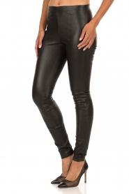 Leather leggings Elanasoo | black