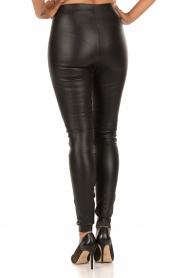 By Malene Birger | Leren legging Elanasoo | zwart  | Afbeelding 5