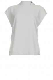 Dante 6 |  Top but buttoned shoulder Izzy | grey  | Picture 1