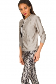 Casall |  Sports jacket Shine | metallic  | Picture 5