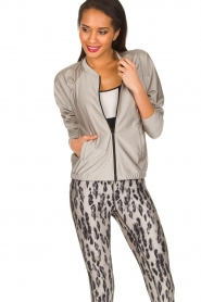Casall |  Sports jacket Shine | metallic  | Picture 2