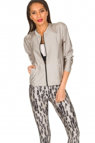 Casall |  Sports jacket Shine | metallic  | Picture 4