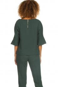 Dante 6 |  Top with trumpet sleeves Melia | green  | Picture 5