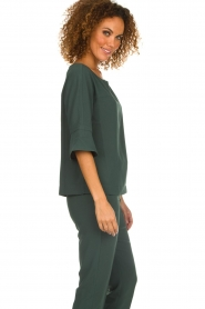 Dante 6 |  Top with trumpet sleeves Melia | green  | Picture 4