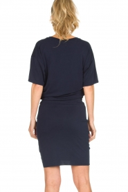 Dante 6 |  Long top with pleats Nuri | navy  | Picture 5