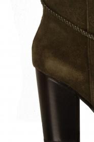 Lola Cruz | Suede laarzen Serraje | groen  | Afbeelding 5