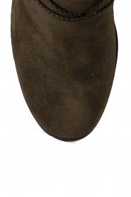 Lola Cruz | Suede laarzen Serraje | groen  | Afbeelding 6