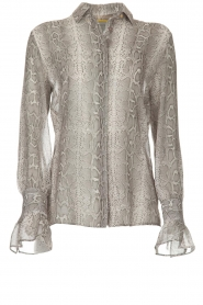 Dante 6 |  Blouse with snake print Mamba | animal print  | Picture 1