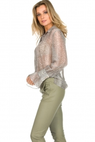 Dante 6 |  Blouse with snake print Mamba | animal print  | Picture 5