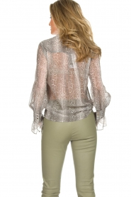 Dante 6 |  Blouse with snake print Mamba | animal print  | Picture 6