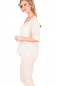 Silk top Lokki | off-white