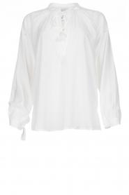 Dante 6 | Klassieke witte blouse Beadu | wit  | Afbeelding 1