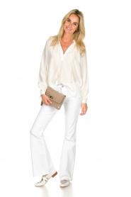 Dante 6 | Klassieke witte blouse Beadu | wit  | Afbeelding 3