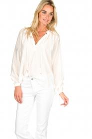 Dante 6 | Klassieke witte blouse Beadu | wit  | Afbeelding 2