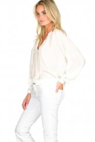 Dante 6 | Klassieke witte blouse Beadu | wit  | Afbeelding 4