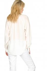Dante 6 | Klassieke witte blouse Beadu | wit  | Afbeelding 5