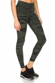 Casall | Sportlegging Blush Wave | Groen  | Afbeelding 5