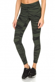 Casall | Sportlegging Blush Wave | Groen  | Afbeelding 4