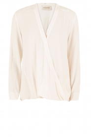 By Malene Birger | Overslagtop Haily | off-white  | Afbeelding 1