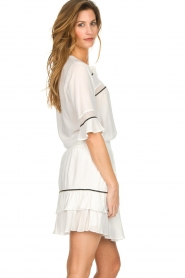 Dante 6 |  Top with embroidered details Byram | white  | Picture 4