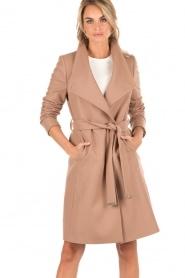 Woolen trench coat Aurore | camel