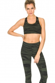 Casall |  Sports bra Wave (A/B-cup) | green  | Picture 2
