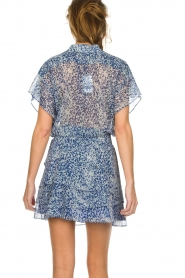 Dante 6 |  Printed blouse Arabella | blue  | Picture 5