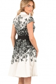 Dress Hoppe | black and white