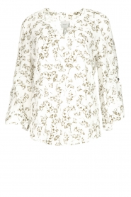 Dante 6 |  Floral top Rumi  | green  | Picture 1