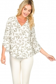 Dante 6 |  Floral top Rumi  | green  | Picture 2