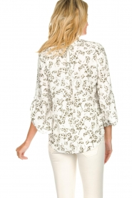Dante 6 |  Floral top Rumi  | green  | Picture 5