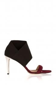 By Malene Birger | Suede sandalen Silhouette | multi   | Afbeelding 1