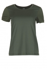 Casall |  Sports top Mesh | Green  | Picture 1