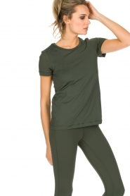 Casall |  Sports top Mesh | Green  | Picture 4