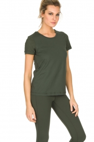 Casall |  Sports top Mesh | Green  | Picture 2