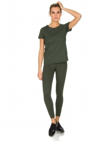 Casall |  Sports top Mesh | Green  | Picture 3