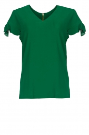 Dante 6 |  Top with ruffles Luxa | green  | Picture 1