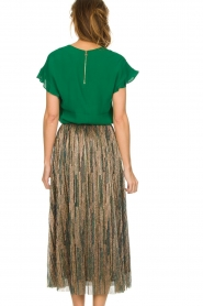 Dante 6 |  Top with ruffles Luxa | green  | Picture 5