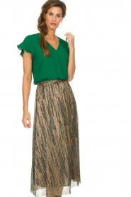 Dante 6 |  Top with ruffles Luxa | green  | Picture 2