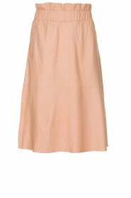 Dante 6 | Leather skirt Temari | pink  | Picture 1
