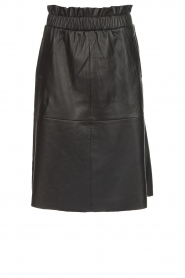 Dante 6 |  Leather skirt Temari | black  | Picture 1