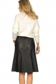 Dante 6 |  Leather skirt Temari | black  | Picture 5