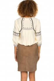 Dante 6 |  Suede skirt Jolijn | brown  | Picture 6