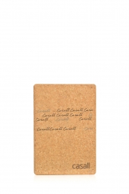 Casall |  Yoga block Cork | brown  | Picture 2