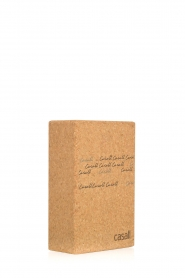 Casall |  Yoga block Cork | brown  | Picture 3