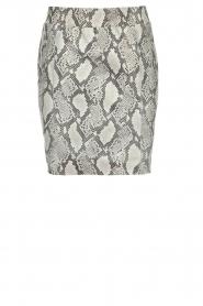 Dante 6 | Leather skirt Eshvi  | print  | Picture 1