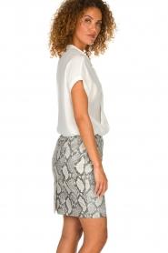 Dante 6 | Leather skirt Eshvi  | print  | Picture 4