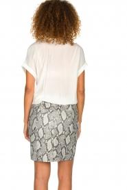 Dante 6 | Leather skirt Eshvi  | print  | Picture 5
